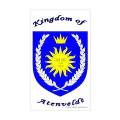 Kingdom of Atenveldt Rectangle Decal