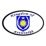 Kingdom of Atenveldt Oval Sticker (50 pk)