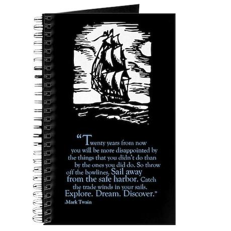 Mark Twain Inspirational Quote Journal