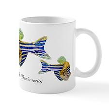 Zebrafish Art Small Mugs
