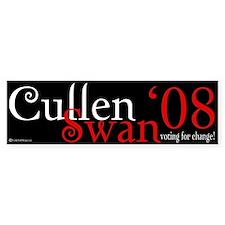 Cullen / Swan '08 Bumper Bumper Sticker