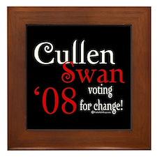 Cullen / Swan '08 Framed Tile