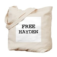 Free Hayden Tote Bag