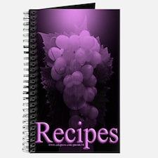 Purple Grape Blank Recipe Book 2