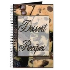 Desert Recipes Blank Recipe Book