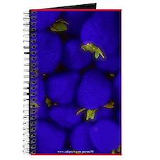Blue Strawberry Blank Recipe Book