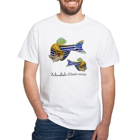 Zebrafish White T-Shirt