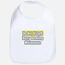 """Busy Beating Melanoma"" Bib"