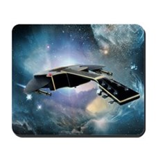 Guitar Spaceship Mousepad