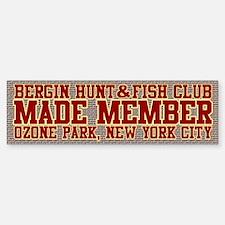 BH&FC Bumper Bumper Sticker