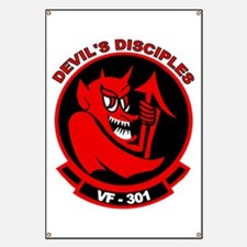 VF 301 Devil's Disciples Banner