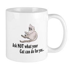 What Your Cat Can Do For You Mug