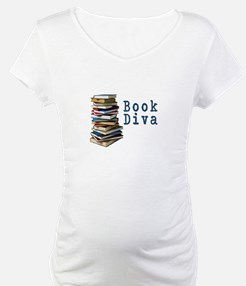 Book Diva (w/books) Shirt