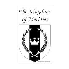 Kingdom of Meridies Rectangle Sticker