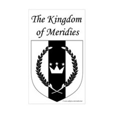 Kingdom of Meridies Rectangle Decal