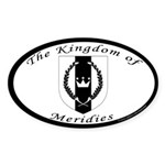 Kingdom of Meridies Oval Sticker (50 pk)