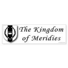 Kingdom of Meridies Bumper Sticker