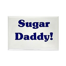 Sugar Daddy Rectangle Magnet (10 pack)