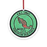 FBI SWAT Mexico City Ornament (Round)