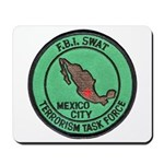 FBI SWAT Mexico City Mousepad