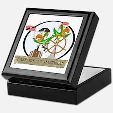 Parrots of the Caribbean Keepsake Box