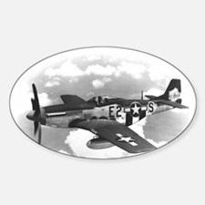 P-51 Mustang Oval Decal