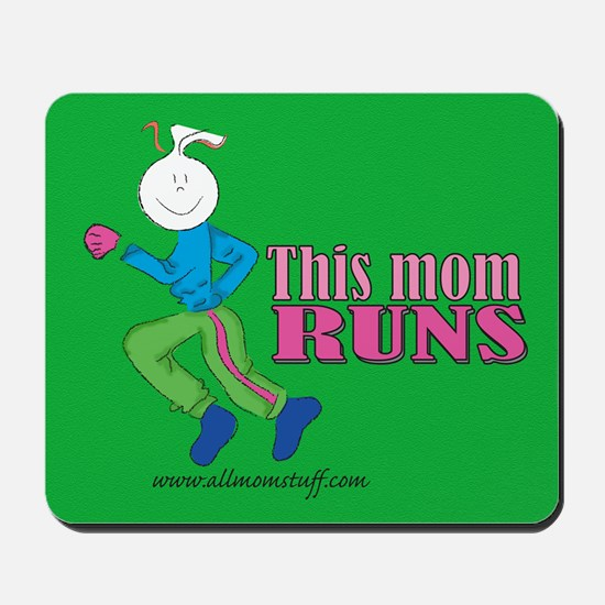 This mom runs Mousepad