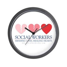Cute Social work Wall Clock
