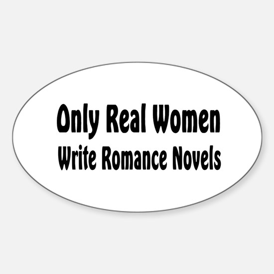 Writer Oval Decal