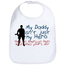Cute Marine kid Bib