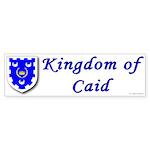 Kingdom of Caid Bumper Sticker (50 pk)