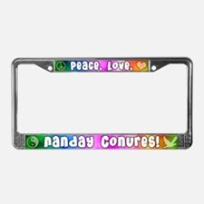Hippie Nanday Conure License Plate Frame