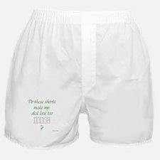 Do these shorts... Boxer Shorts