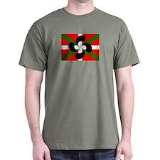 Ikurrina Lauburu T-Shirt