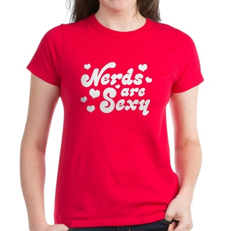 Nerds are Sexy Women's Dark T-Shirt