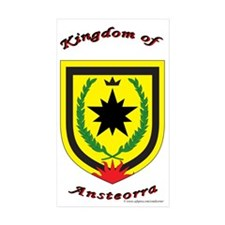 Ansteorra Rectangle Sticker 50 pk)
