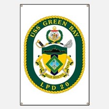 USS Green Bay LPD 20 Banner