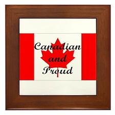 Canadian Pride Framed Tile