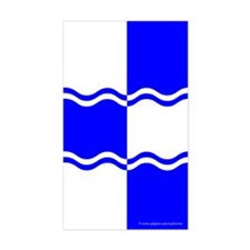 Atlantia Ensign Rectangle Decal