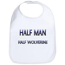 Half Man Half Wolverine Bib