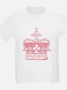 Pink Crown and Skulls T-Shirt