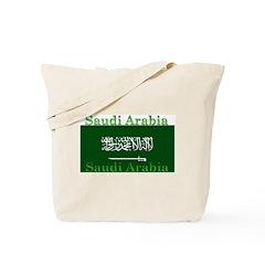 Saudi Arabia Arabian Flag Tote Bag