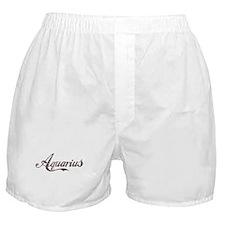 Vintage Aquarius Boxer Shorts