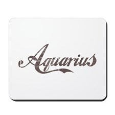Vintage Aquarius Mousepad
