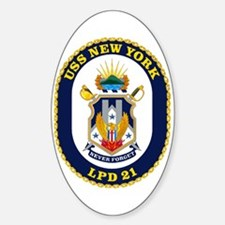 LPD 21 New York Oval Decal