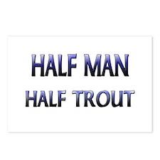 Half Man Half Trout Postcards (Package of 8)