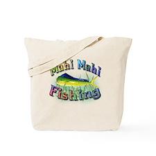 Mahi Mahi Fishing Tote Bag