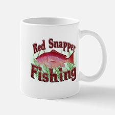 Red Snapper Fishing Mug