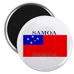 Samoa Samoan Flag Magnet