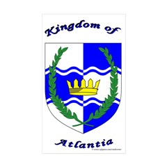 Atlantia Rectangle Sticker 50 pk)